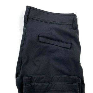 Prana Breathe Nylon Straight Pants Zipper Pockets